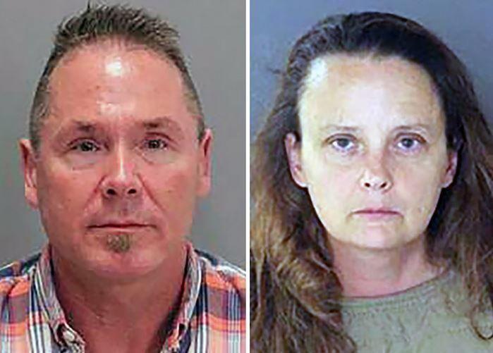 Michael Keller og Gail Burnworth er begge pågrepet og siktet for overgrep mot barn under 10 år.