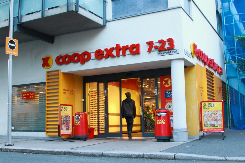 KUNDEMAGNET: Coop-eide Extra melder om rekordtall.
