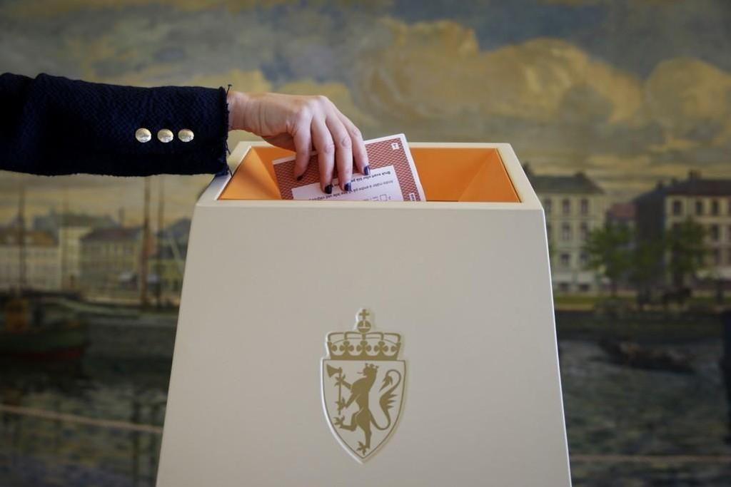 Fra torsdag 10.08 kan du forhåndsstemme ved årets Stortingsvalg.