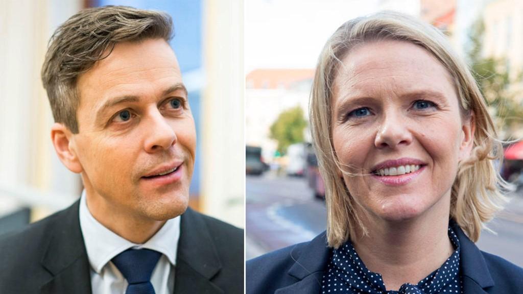 Knut Arild Hareide og Sylvi Listhaug braket sammen i skitten debatt onsdag morgne.