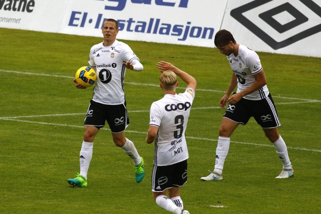 UTLIGNET: Milan Jevtovic utlignet for Rosenborg.