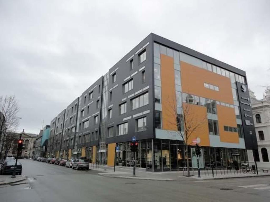 SpareBank 1 SMN vil gjøre en saie lease back med Søndre gate 4-10.