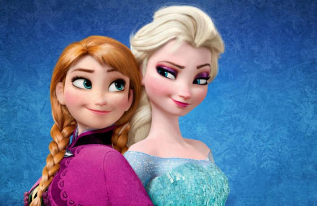 «FROZEN»: Hovedkarakterene Anna og Elsa fra Disney-suksessen.