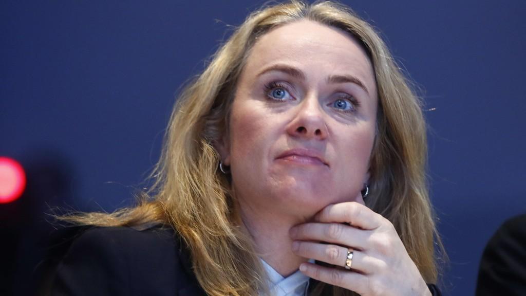 UENIG: Arbeids- og sosialminister Anniken Hauglie (H) er uenig i kritikken av Nav, som hun mener fungerer stadig bedre.