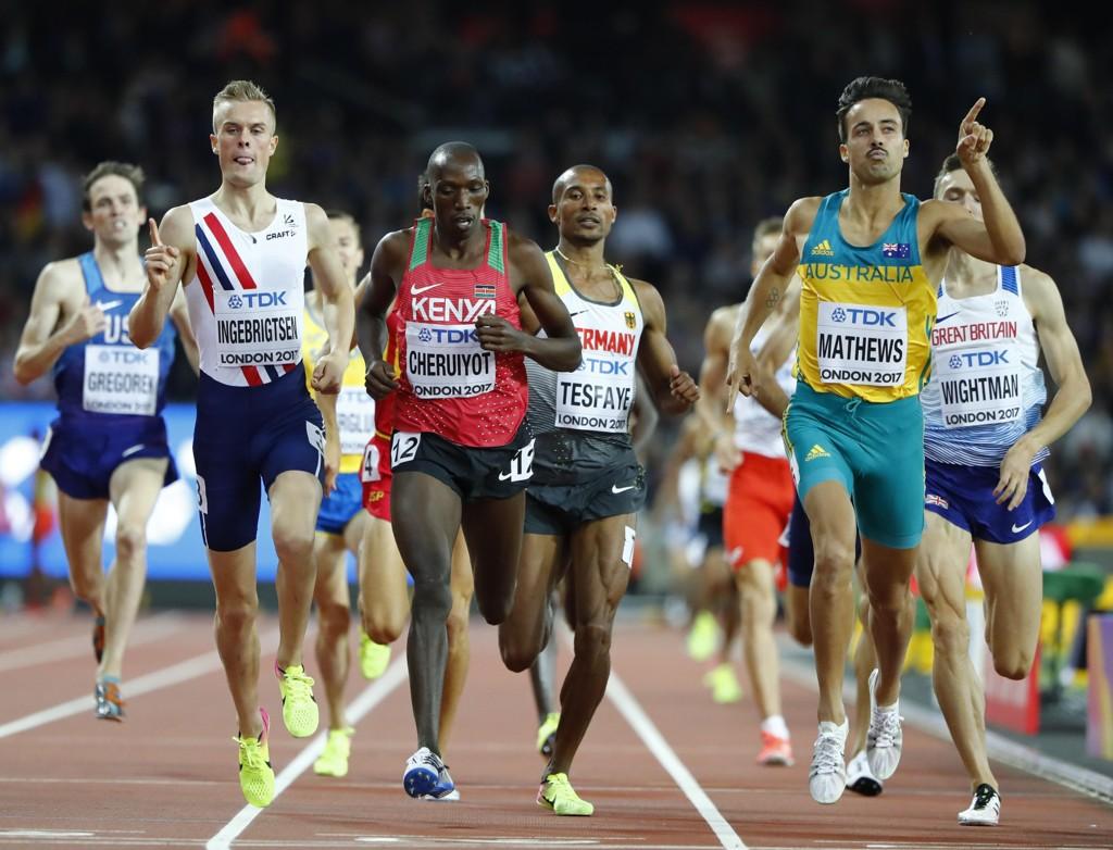 SEMIFINALE: Filip Ingebrigtsen er klar for semifinale på 1500 meter i VM.