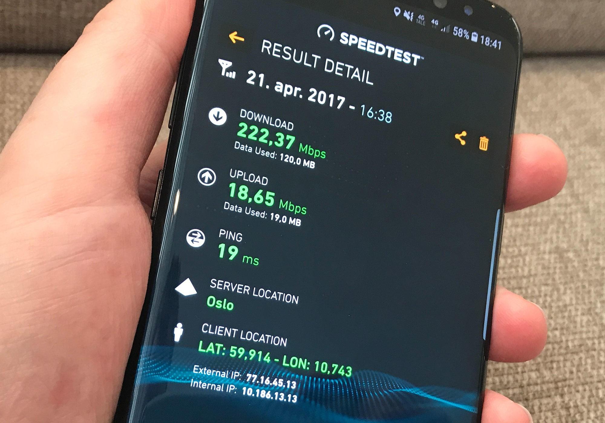 Nye tall fra Ookla viser at Norge har verdens raskeste mobilnett - med ganske solid margin.