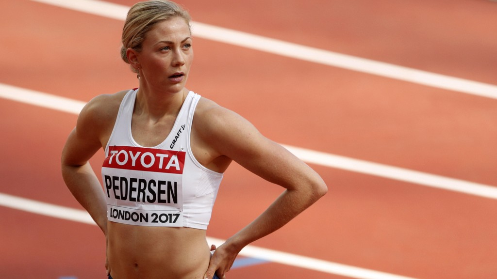 TIL SEMI: Isabelle Pedersen er med videre.