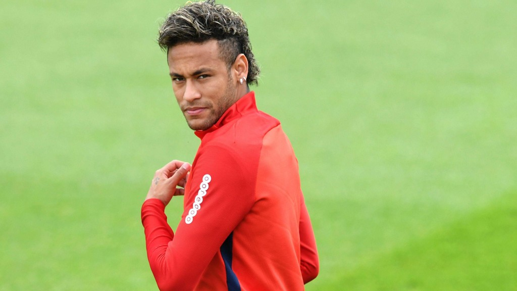 SPILLEKLAR: Neymar er klar for spill i Paris Saint-Germain.