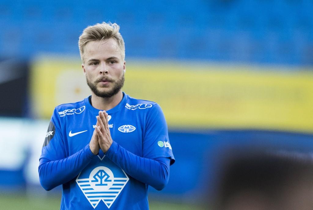 TIL SVERIGE: Sander Svendsen.