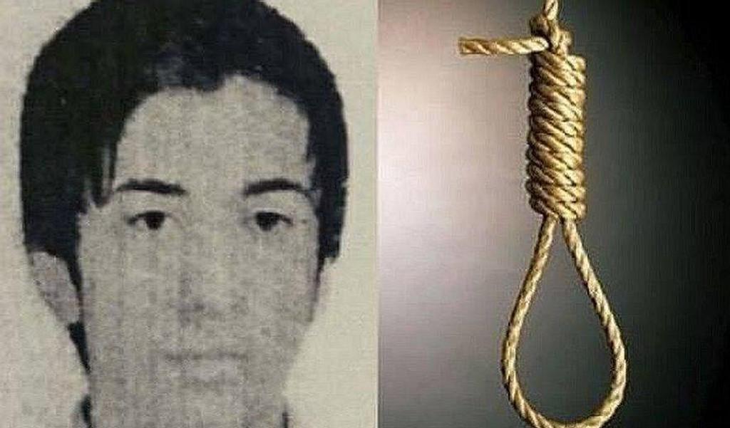 Ali Reza Tajiki ble dømt til døden da han var mindreårig. Torsdag ble 21-åringen henrettet ved henging i et iransk fengsel.