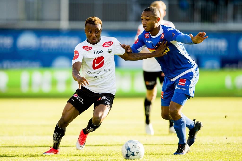 VANT: Sandefjord og Crescendo van Berkel vant mot Sogndal fredag.