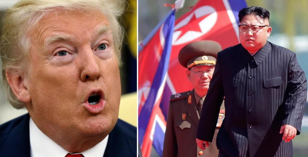 USAs president Donald Trump advarer nok en gang Nord-Korea.