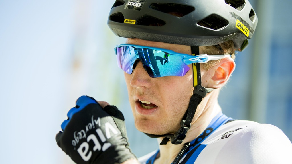 August Jensen vant den tredje etappen i Arctic Race of Norway.