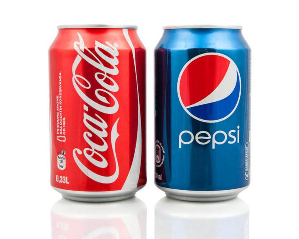 Coca-Cola eller Pepsi? Vi håper brusvalget har minimalt å si for forholdet til folk flest ...