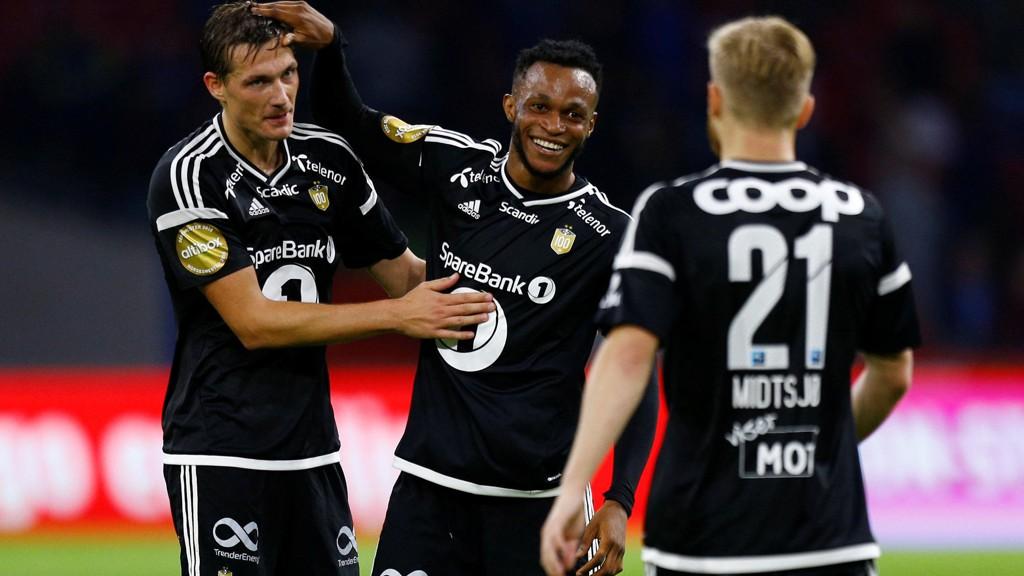 DRØMMEDEBUT: Samuel Adegbenro senket Ajax i sin Rosenborg-debut.
