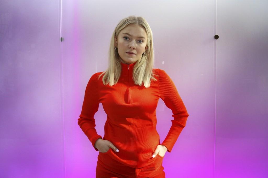 Astrid Smeplass (20) slapp låta «Think Before I Talk» på fredag.