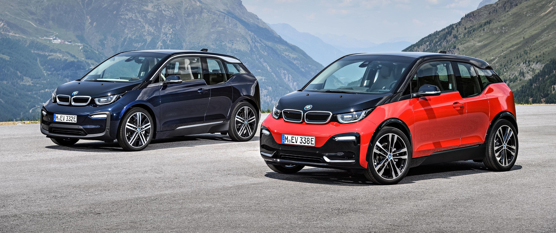 BMW i3s: Mer fart og sport er fokus i den nye s-utgaven av i3. Designmessig ser du klarest forskjell på den nye nedre halvdelen av fronten og andre mindre detaljer.