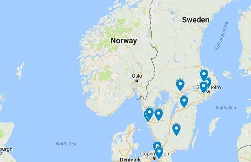 Svensk politi la i juni fram en oppdatert rapport over problemområder. Listen omfattet 61 områder. 23 av disse områdene er definert som særlig utsatte.