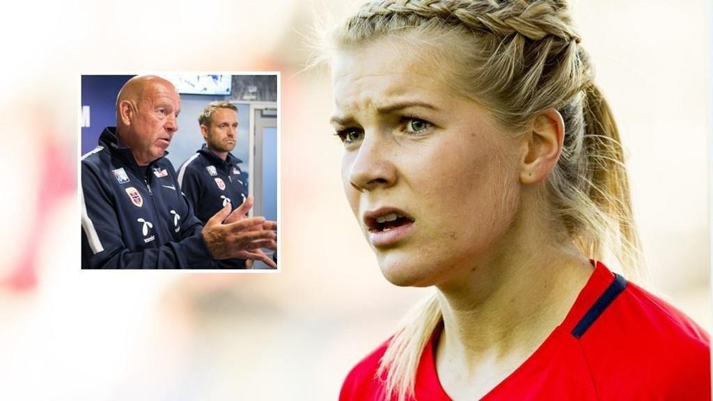 SKUFFET: Ada Hegerberg går nå ut mot toppfotballsjef Nils Johan Semb og landslagssjef Martin Sjögren.