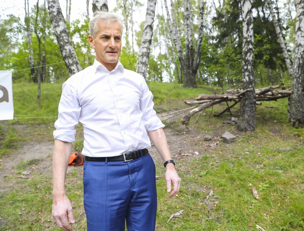 Leder i Arbeiderpartiet, Jonas Gahr Støre, her fra Frysja i Oslo tidligere i august.