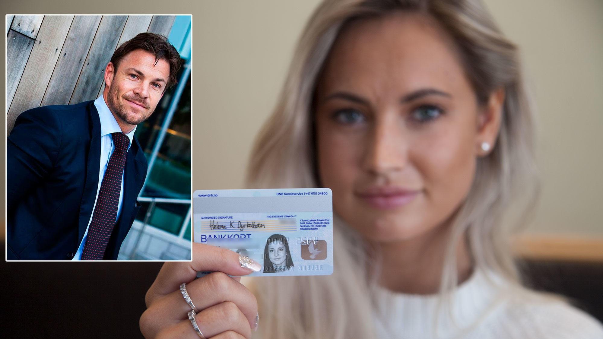 Personen på et bankkort kan være nærmest hvem som helst etter hvert som årene går. Sikkerhetseksperten Kjell-Ola Kleiven mener bankkortene er ubrukelige som legitimasjon.