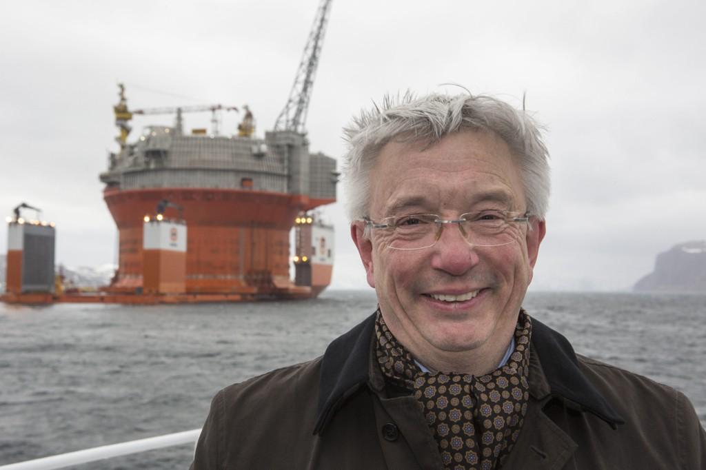 STOR INTERESSE: Adm. direktør Karl Eirik Schjøtt-Pedersen i Norsk olje og gass konstaterer at interessen er stor.