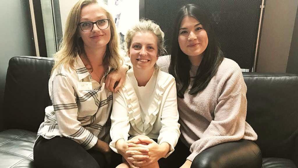 FRA VENSTRE: Line Leren, Stine Solli og Tine Knutsen jobber alle i Sex og samfunn med seksualundervisning.