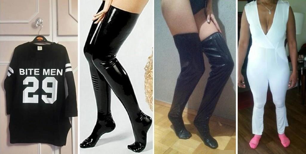 Det kan gå skikkelig, skikkelig gærent når man bestiller klær på nett.