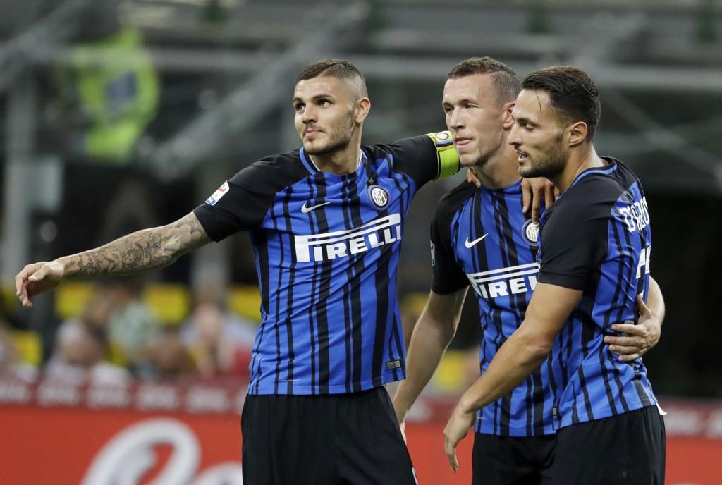 Inter-spillerne kunne juble for en ny seier søndag.