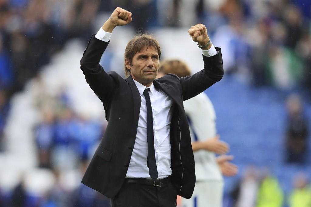 SUKSESSJAKT: Chelsea-manage Antonio Conte jakter mesterligasuksess.