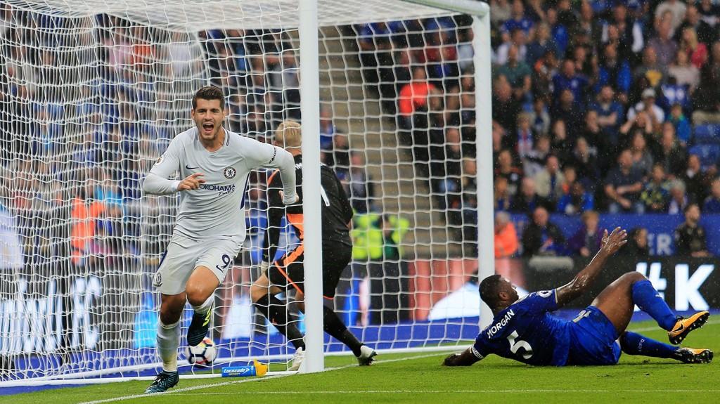 KONTROVERSIELL SANG: Chelsea vil straffe lagets supportere for det antisemittisk innholdet i sangen om Alvaro Morata.
