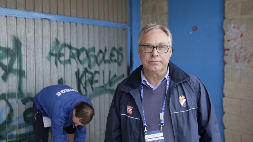 Sykkel-VM: Sykkelpresident Harald Tidemann Hansen.
