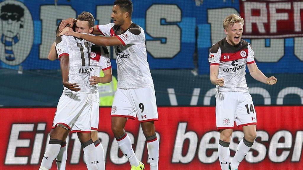 SEIRET: Mats Møller Dæhli og St. Pauli vant 1-0 mot Nürnberg.