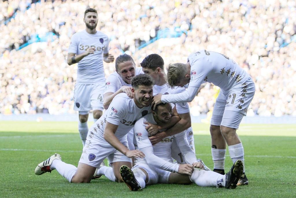 I FLYTSONEN: Leeds vant sin tredje kamp på rad da Burton ble slått hele 5-0 i helgen.