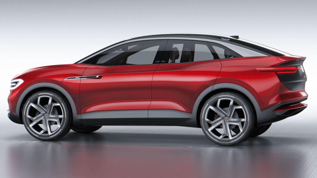 Dette kan godt være din kommende elbil ... VW I-D. CROZZ II vises nå i Frankfurt, den kommer på markedet i 2020.