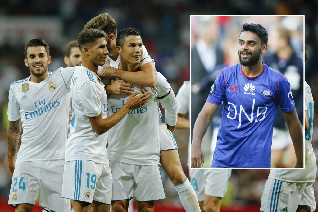 STJERNEMØTE: Ghayas Zahid (innfelt) og hans APOEL møter Real Madrid i gruppespillet i Champions League onsdag kveld.
