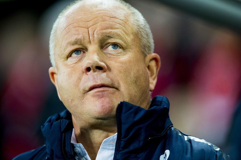 KRITIKK: Per-Mathias Høgmo måtte tåle mye kritikk før han gikk av som landslagstrener for Norge.