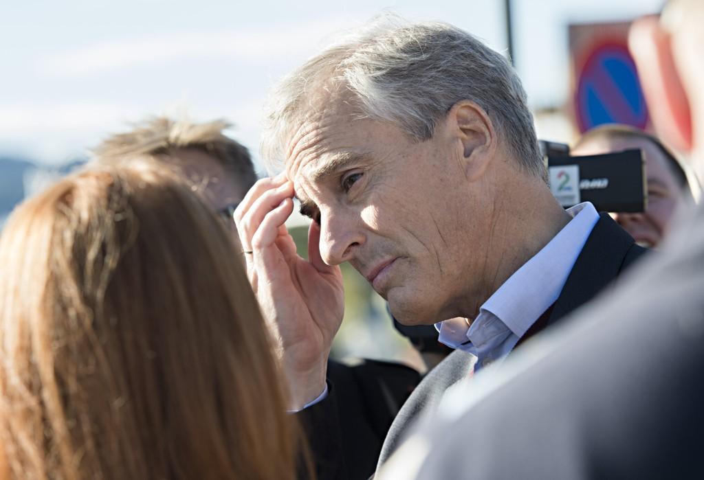 NEDERLAG: Ap-leder Jonas Gahr Støre gikk på en smell valgkvelden, og tapte kampen om regjeringsmakt. Nå skal valgkampen evalueres.