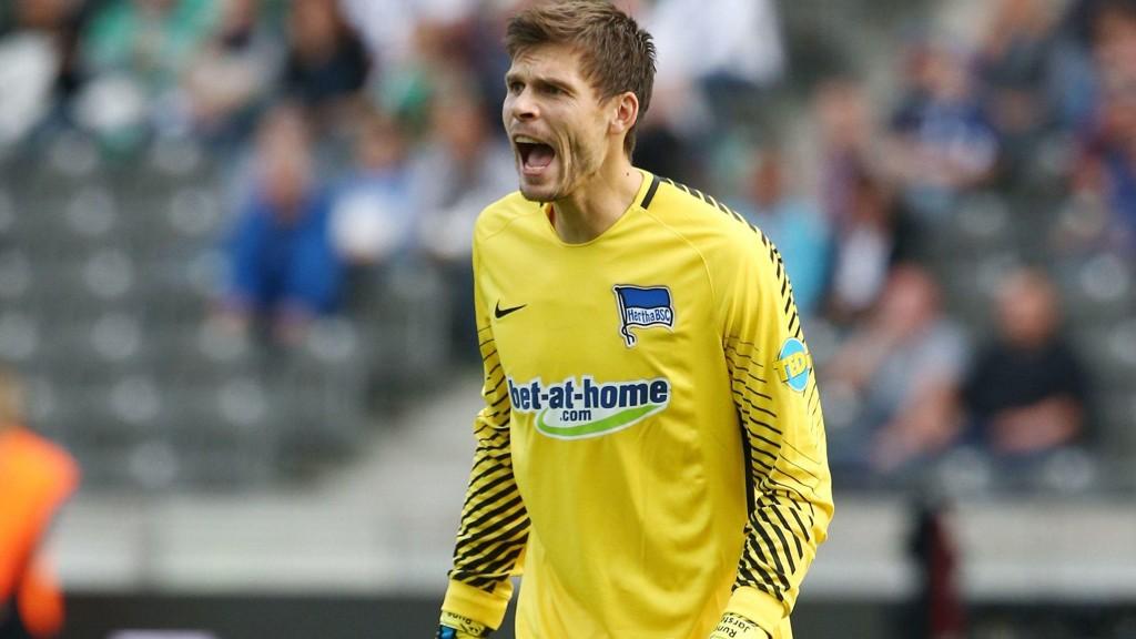 BENKET: Rune Jarstein må sitte på benken i Europa League.