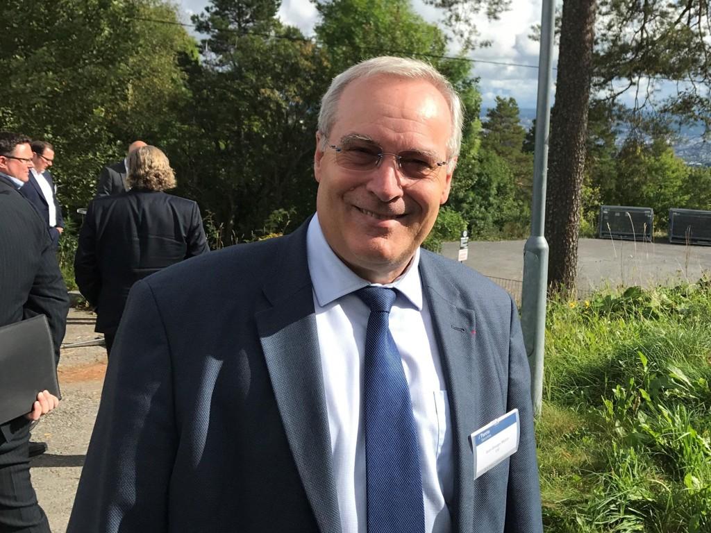 OPTIMIST: CGG-topp Jean-Georges Melcor tror på en ny oljetopptur.