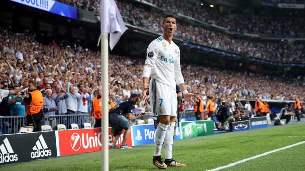 SEIER: Cristiano Ronaldo og Real Madrid kunne juble over seieren mot APOEL.