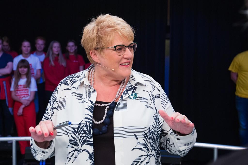 Trine Skei Grande og Venstre går inn i regjeringsforhandlinger med Høyre, Fremskrittspartiet og Kristelig Folkeparti med tre hovedkrav.