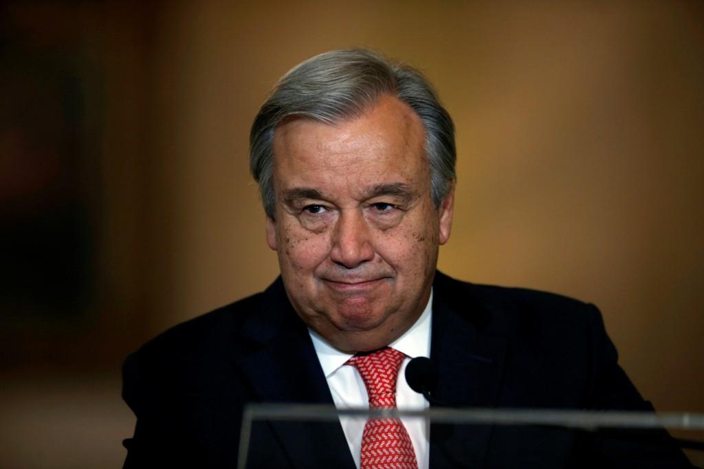 FNs generalsekretær António Guterres.