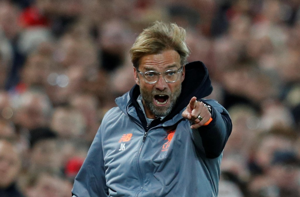 IKKE BRÅK: Det mener Liverpools Jürgen Klopp.