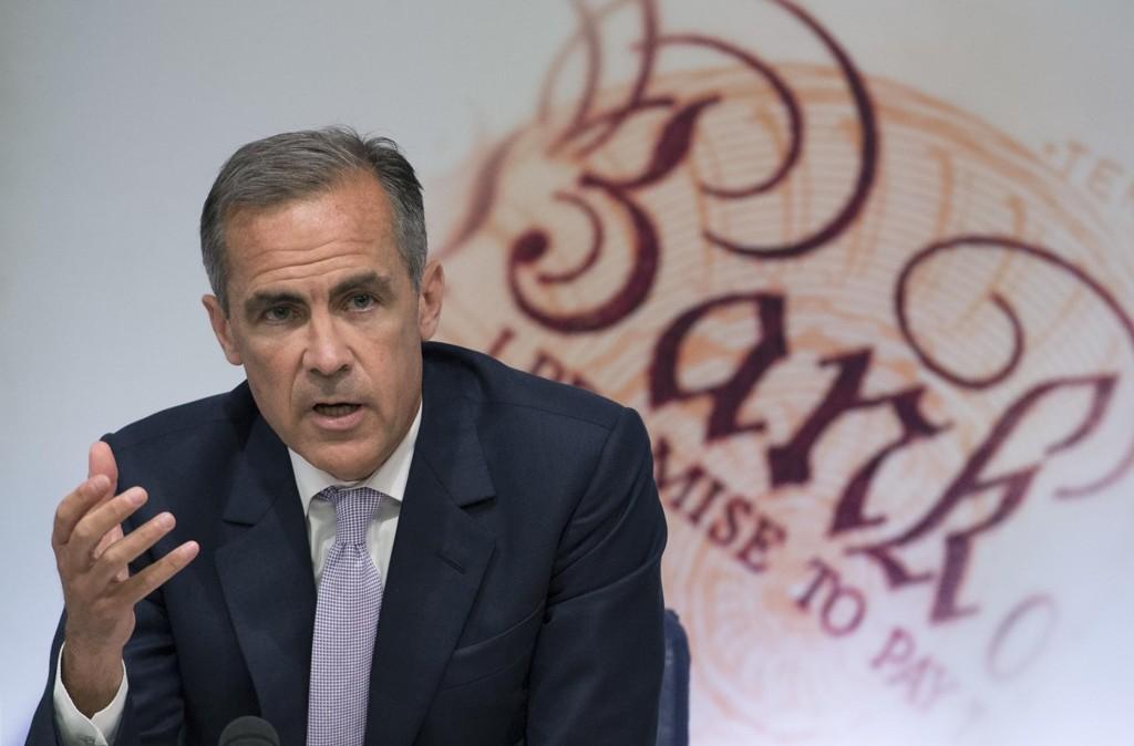 ÅPNER FOR RENTEHEVING: Sentralbanksjef i Bank of England, Mark Carney.