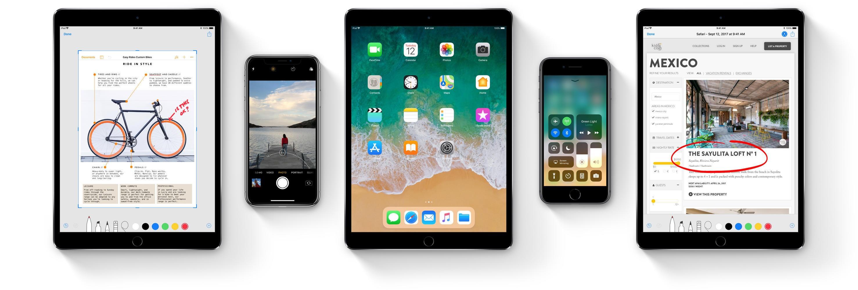 IOS 11: Det er iPad som får de største endringene i iOS 11, men det er nyheter for iPhone-brukere også.