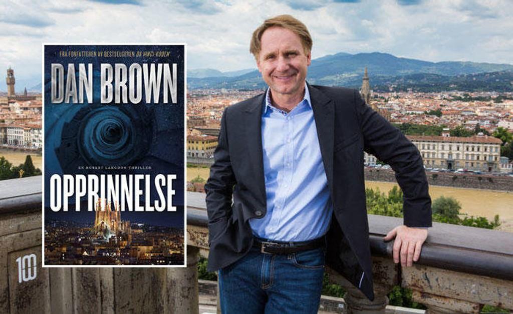Dan Brown er en av verdens mest populære forfattere. Nå er han snart klar med ny bok.