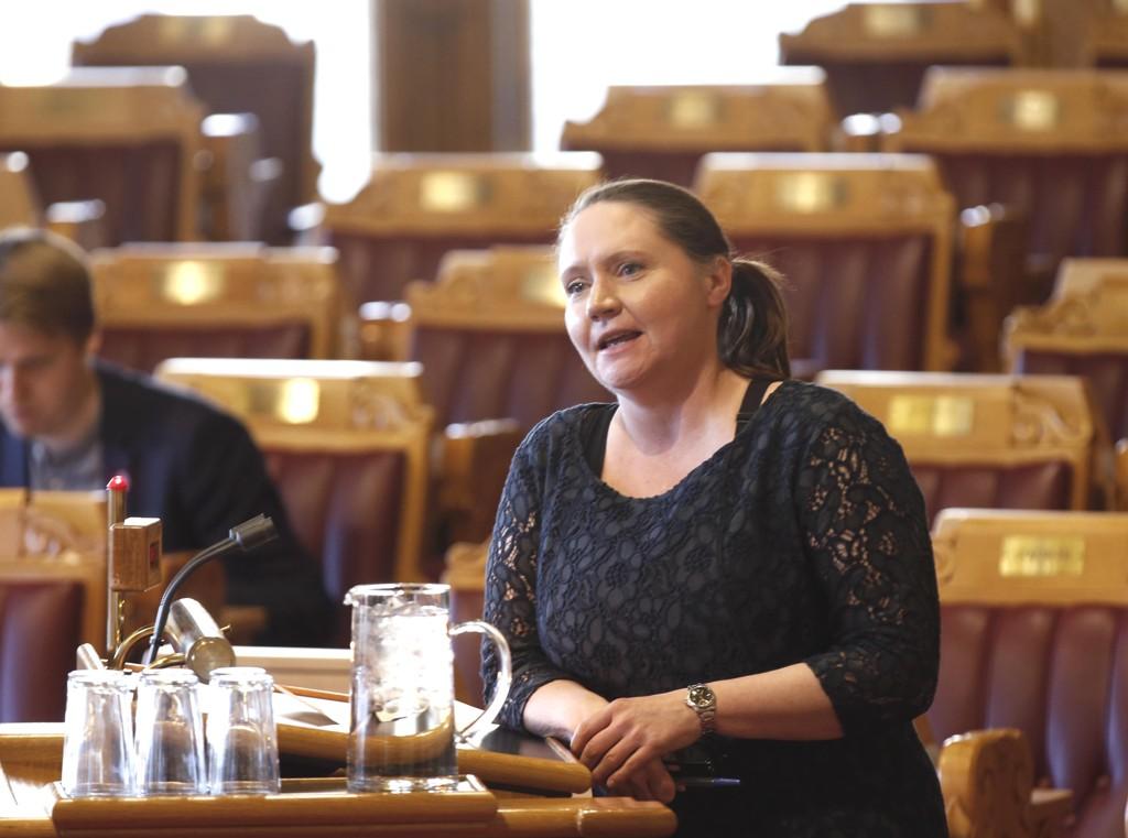 FORSLÅS: Stortingsrepresentant Eva Kristin Hansen (Ap) lanseres av Arbeiderpartiet som stortingspresident.