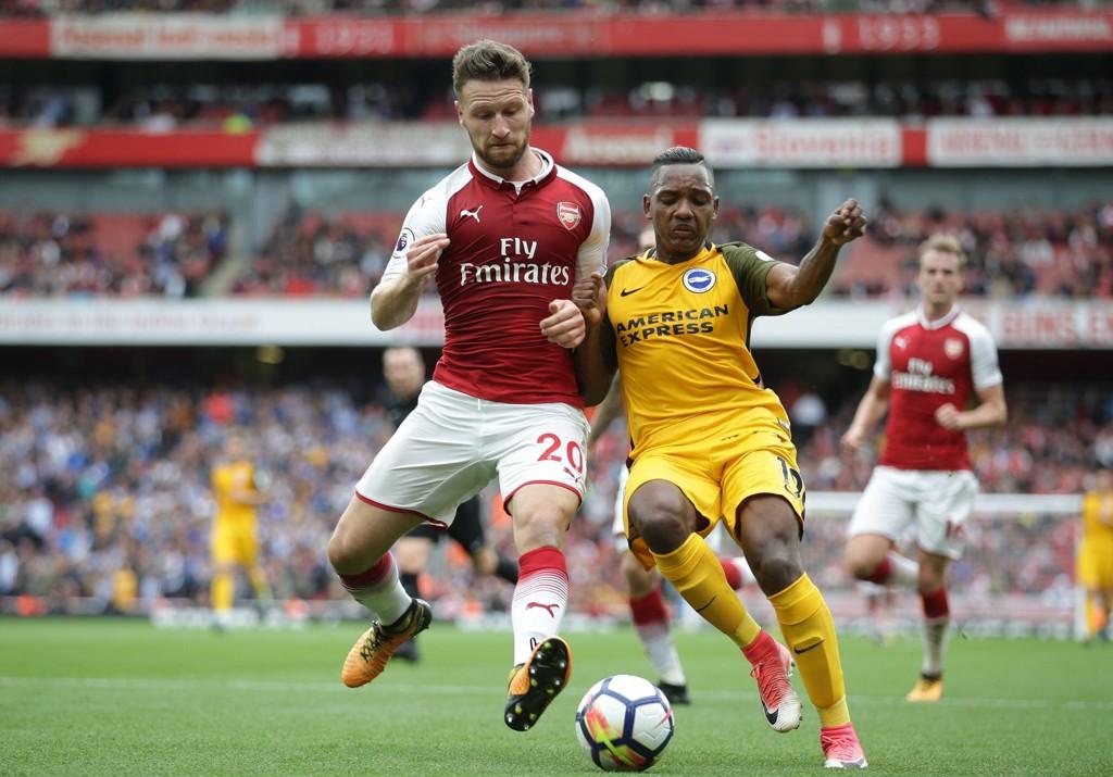 SKADET: Arsenal-profilen Shkodran Mustafi.