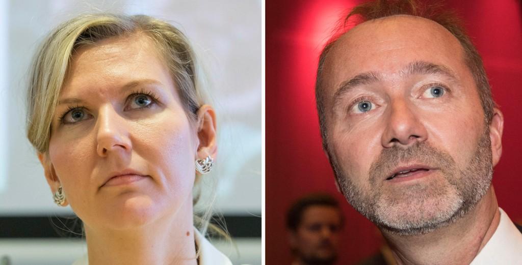 HVEM HAR ANSVARET? Både Arbeiderpartiets Marianne Marthinsen og hennes etterfølger som leder i finanskomiteen, Trond Giske, gikk inn for skatteskjerpelser på 15 milliarder kroner i valgkampen.